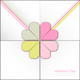 Happy valentines day and weeding cards Royalty Free Stock Images