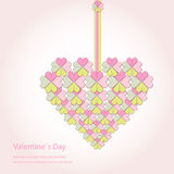 Happy valentines day and weeding cards Royalty Free Stock Photos