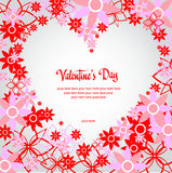 Happy valentines day and weeding cards Stock Images