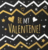 Happy valentines day and weeding cards design Royalty Free Stock Image