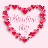 Happy valentines day and weeding design elements. Vector illustr Royalty Free Stock Images