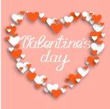 Happy valentines day and weeding design elements. Vector illustr Stock Image