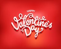 Happy valentines day wishes card. Happy valentines day wishes greeting card Stock Image
