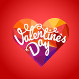 Happy valentines day wishes greeting card. Valentines vector lab Stock Photo