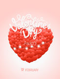 Happy valentines day wishes. Valentines day party Stock Photography
