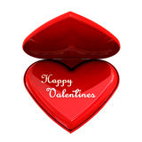 Happy Valentines heart Royalty Free Stock Photo