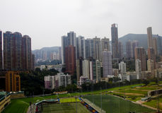 Happy Valley, Hong Kong Island Stock Photo