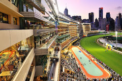 Happy Valley night view royalty free stock photo