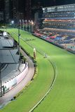 Happy Valley Racecourse in Hong Kong stock photography