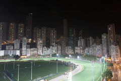 Happy Valley Racecourse, Hong Kong Royalty Free Stock Images