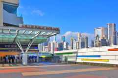 Happy valley racecourse, hong kong Stock Photo