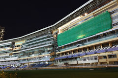 The  Happy Valley Racecourse in Hong Kong Royalty Free Stock Image