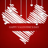 Happy Valnetine's day Royalty Free Stock Photos