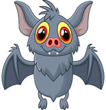 Happy Vampire Bat Cartoon Character Flying Royalty Free Stock Photo