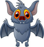 Happy Vampire Bat Cartoon Character Flying Stock Photography