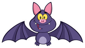 Happy Vampire Bat Stock Image