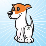 Happy Vector Dog Royalty Free Stock Photography