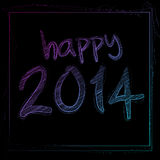 Happy 2014 Royalty Free Stock Photos