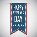 Happy veterans day quote for the Vet Day in USA Royalty Free Stock Photos