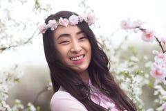 Happy Vietnamese girl Stock Photo