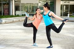 Improving flexibility Royalty Free Stock Images