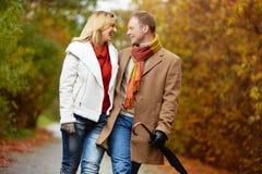 Happy walk Stock Image