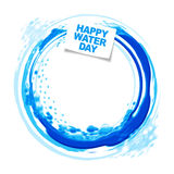 Happy water day Stock Photo