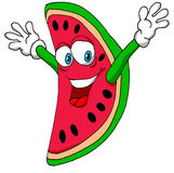 Happy Watermelon. A Vector Illustration of a Happy Watermelon Royalty Free Stock Images
