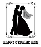 Happy wedding day! Royalty Free Stock Image