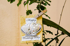 Happy wedding day Royalty Free Stock Photo