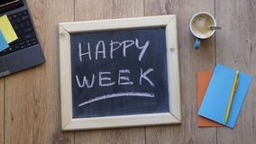 Happy week Royalty Free Stock Photography