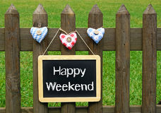 Happy Weekend Royalty Free Stock Images