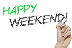 Happy weekend family time Stock Photos