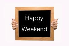 Happy Weekend stock photos