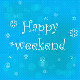 Happy weekend Royalty Free Stock Photos