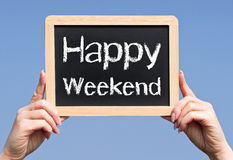 Happy weekend Royalty Free Stock Image