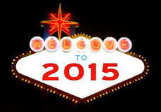 Happy 2015 Stock Images