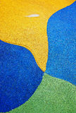 Happy Whale. Abstract shape at rubber floor royalty free stock photos