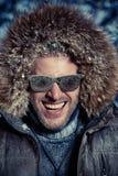 Happy winter Stock Image