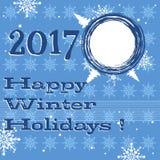 Happy winter holidays royalty free stock photo