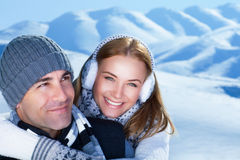 Happy winter holidays Stock Photo