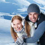 Happy winter holidays Royalty Free Stock Images