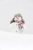 Happy winter snowman Stock Photo