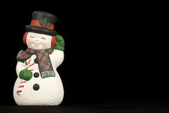 Happy Winter Snowman Royalty Free Stock Photography