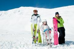 Happy winter vacation Royalty Free Stock Photo