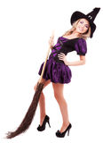 Happy witch Royalty Free Stock Images