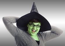 Happy Witch Royalty Free Stock Photography