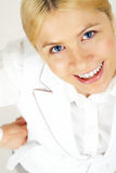 Happy woman Royalty Free Stock Image