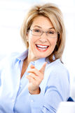 Happy woman Stock Photos