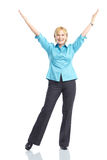 Happy woman. Stock Images